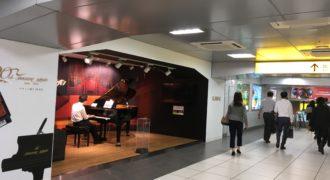 浜松駅のステーションピアノ